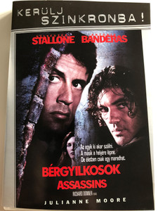 Assassins DVD 1995 Bérgyilkosok / Directed by Richard Donner / Starring: Sylvester Stallone, Antonio Banderas, Julianne Moore (5999048915863)