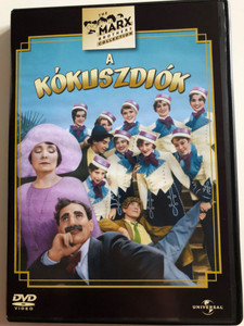 The Cocoanuts DVD 1929 A Kókuszdiók / Directed by Joseph Santley, Robert Florey / Starring: Groucho Marx, Harpo Marx, Chico Marx, Zeppo Marx / Pre-Code musical comedy (5050582318142)