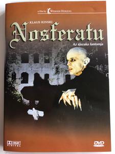 Nosferatu the Vampyre DVD 1979 Nosferatu, az éjszaka fantomja / Directed by Werner Herzog / Starring: Klaus Kinski, Isabelle Adjani, Bruno Ganz (5999881767131)