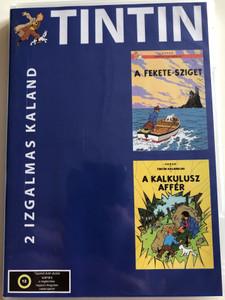 The Adventures of Tintin - Disc 3 DVD 1991 Tintin - 2 izgalmas kaland / 2 exciting adventures / A fekete-sziget, A kalkulusz affér / Les Aventures de Tintin (5999559990182)