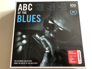 ABC Of The Blues / The Ultimate Collection From The Delta To The Big Cities / Big Bill Broonzy, Bo Diddley, Howlin' Wolf, Leadbelly, Bessie Smith, Big Joe Turner, Muddy Waters, Bukka White / Documents 52x Audio CD Set 2010 / 233168