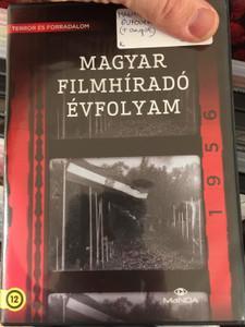 Magyar Filmíradó évfolyam - 1956 DVD Terror és forradalom / Hungarian Film Newsgroup / 4 DVD / 1-44. Négylemezes változat (5999884681885)