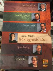Írók egymás közt DVD 2007 Hungarian Writers among themselves / Directed by Vámos Miklós / Featuring: Eszterházy Péter, Konrád György, Nádas Péter, Spiró György, Závada Pál (5999882499307)