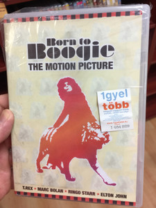 Born to Boogie - The motion picture DVD 1972 / T.Rex, Marc Bolan, Ringo Starr, Elton John / Legendary original motion picture (0602517718128)