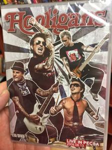 Hooligans DVD 2009 Live in Pecsa 2009.06.13 CD & DVD / Királylány, Ringass el, A zene nem eladó, menj tovább, Poker Face, Hotel mámor / Hungarian rock band / Concert film, Discography, ExtrasEmi Records (5099960676320)