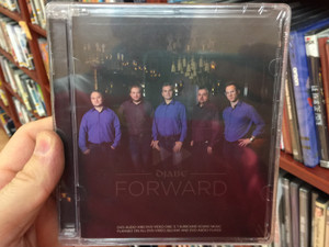Djabe - Forward DVD & Audio 2014 / With Hungarian Symphony Orchestra Miskolc / Conducted by Zoltán Kovács / Malik Mansurov, Steve Hackett, John Nugent, Gulli Briem, Viktor Tóth / GR1993 Records (5998176111352)