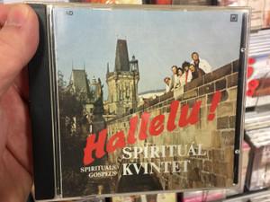 Hallelu! - Spirituál Kvintet - Spirtuals Gospels / Panton Audio CD 1991 Stereo / 81 1010-2 311
