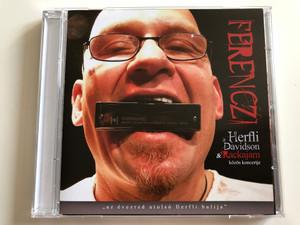 "Ferenczi A Herfli Davidson & Rackajam – ""Az Évezred Utolsó Herfli Bulija"" / Gryllus Audio CD 2009 / GCD 088"