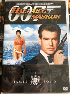 James Bond 007 - Die Another Day DVD 2002 James Bond Halj meg máskor / Directed by Lee Tamahori / Starring: Pierce Brosnan, Halle Berry, Toby Stephens, Rosamund Pike (8594163150037)