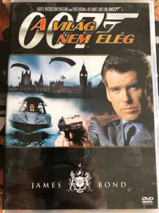 James Bond 007 - The World is not Enough DVD 1999 James Bond A világ nem elég / Directed by Michael Apted / Starring: Pierce Brosnan, Sophie Marceau, Robert Carlyle (8594163150037/2)