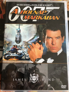 James Bond 007 - Tomorrow Never Dies DVD 1997 James Bond - A holnap markában / Directed by Roger Spottiswoode / Starring: Pierce Brosnan, Jonathan Pryce, Michelle Yeoh, Teri Hatcher (8594163150037/3)