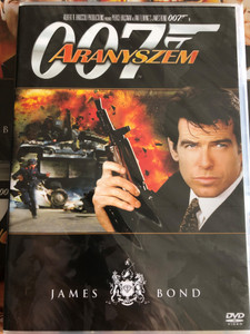 James Bond 007 - Goldeneye DVD 1995 James Bond - Aranyszem / Directed by Martin Campbell / Starring: Pierce Brosnan, Sean Bean, Izabella Scorupco, Famke Janssen / Music with Bono, Tina Turner (8594163150037/4)