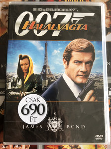 James Bond 007 - A view to a kill DVD 1985 James Bond - Halálvágta / Directed by John Glen / Starring: Roger Moore, Tanya Roberts, Grace Jones, Patrick Macnee, Christopher Walken (8594163150037/7)