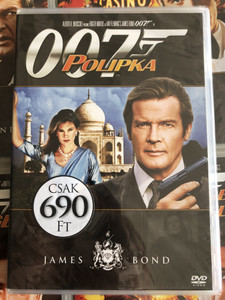 James Bond 007 - Octopussy DVD 1983 James Bond - Polipka / Directed by John Glen / Starring: Roger Moore, Maud Adams , Louis Jourdan, Kristina Wayborn (8594163150037/8)