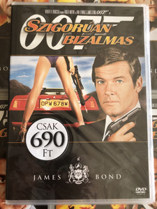 James Bond 007 - For your eyes only DVD 1981 James Bond - Szigorúan bizalmas / Directed by John Glen / Starring: Roger Moore, Carole Bouquet, Topol, Lynn Holly (8594163150037/9)
