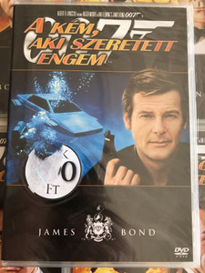 James Bond 007 - The Spy who loved me DVD 1977 James Bond - A kém aki szeretett engem / Directed by Lewis Gilbert / Starring: Roger Moore, Barbara Bach, Curd Jürgens (8594163150037/11)