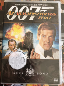 James Bond 007 - The Man with the Golden Gun DVD 1974 James Bond - Az aranypisztolyos férfi / Directed by Guy Hamilton / Starring: Roger Moore, Christopher Lee, Britt Ekland, Maud Adams (8594163150037/12)