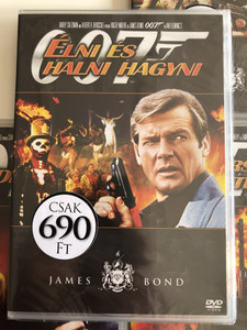James Bond 007 - Live and Let Die DVD 1973 James Bond - Élni és halni hagyni / Directed by Lewis Gilbert / Starring: Roger Moore, Yaphet Kotto, Jane Seymour (8594163150037/13)
