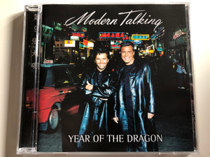 Modern Talking ‎– Year Of The Dragon / BMG Berlin Musik GmbH ‎Audio CD 2000 / 74321 74517 2