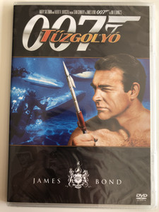 James Bond 007 - Thunderball DVD 1965 James Bond - Tűzgolyó / Directed by Peter Hunt / Starring: Sean Connery, Claudine Auger, Adolfo Celi, Luciana Paluzzi (8594163150037/17)