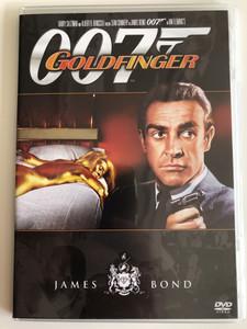 James Bond 007 - Goldfinger DVD 1964 Goldfinger / Directed by Guy Hamilton / Starring: Sean Connery, Honor Blackman, Gert Fröbe (8594163150037/18)