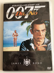 James Bond 007 - Dr. No DVD 1962 Dr. No / Directed by Terence Young / Starring: Sean Connery, Ursula Andress, Joseph Wiseman, Jack Lord (8594163150037/20)
