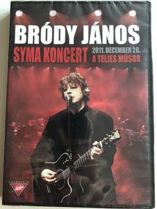 Bródy János - Syma Koncert DVD 2012 / 2011. december 20. A teljes műsor / Full concert recording / Emi Music Hungary (5099923230798)