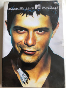 Alejandro Sanz unplugged DVD 2001 MTV / Extra: Biography, with included booklet / Warner Music Vision