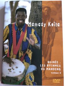 Mamady keita - Guinée: Les Rythmes du Mandeng Vol 3 DVD 2004 / Fonti Musicali / FaZ 88003 (5400443880033)