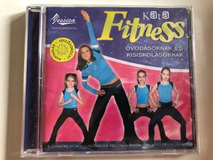 Kata Fitness / Ovodasoknak es Kisiskolasoknak / A Gyakorlatok Illusztracioi Megtalalhatok a Borito Belsejeren / Fortuna Records Audio CD 2004 / FR 0402 CD