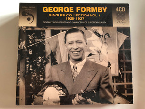 George Formby ‎– Singles Collection Vol.1 (1926-1937) / Digitally Remastered And Enhanced For Superior Quality / Real Gone Music Company 4x Audio CD / RGMCD205