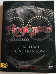 Hooligans 20th Anniversary 2xDVD 2017 Jubielumi KoncertShow / Dupla DVD / Papp László Budapest Sportaréna / Mindörökké, Egyformán, Szabadon, Magányterület, Ébren várj, Paradicsom, Hotel Mámor (5999887649059)