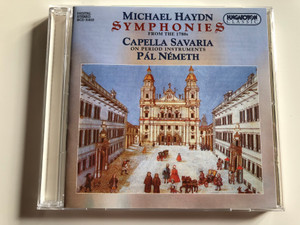 Michael Haydn - Symphonies From the 1780s / Capella Savaria on period instruments / Pal Nemeth / Hungaroton Classic Audio CD 1999 Stereo / HCD 31810