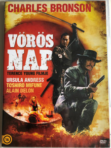 Red Sun DVD 1971 Vörös nap / Directed by Terence Young / Starring: Charles Bronson, Ursula Andress, Toshirō Mifune, Alain Delon (4260924231584)