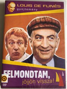 Le petit baigneur DVD 1968 Felmondtam, jöjjön vissza! (The Little Bather) / Directed by Robert Dhéry / Starring: Louis de Funès, Andréa Parisy (5996473012013)
