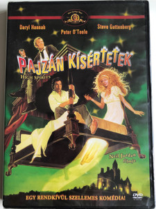 High Spirits DVD 1988 Pajzán Kísértetek / Directed by Neil Jordan / Starring: Daryl Hannah, Peter O'Toole, Steve Guttenberg , Beverly D'Angelo (4989658090822)