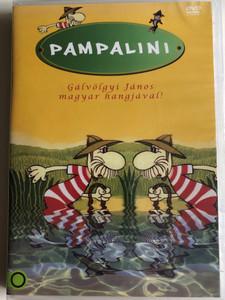 Pampalini Lowca zwierzat DVD 1977 Pampalini Sorozat / Created by Tadeusz Kwinta, Andrzej Śleziak / Polish cartoon series (5999545584395)