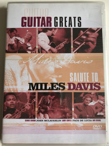 Guitar Greats - Salute to Miles Davis DVD 1992 / George Benson, John Mclaughlin, Larry Coryelll, Paco de Lucia and others / Immortal IMM 940177 (8712177055487)