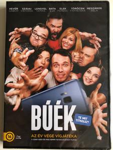 Buék DVD 2018 Happy New Year / Directed by Goda Krisztina / Starring: Szávai Viktória, Mészáros Béla, Bata Éva, Hevér Gábor, Elek Ferenc, Törőcsik Franciska (5996471003631)