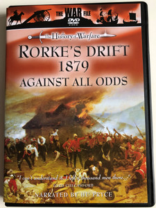 Rorke's Drift 1879 Against all odds DVD 1994 The history of Warfare / Cromwell Productions / Narrated by Hu Pryce / The War File DVD series (5022802210710)