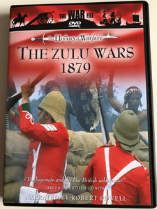The Zulu Wars 1879 - The History of Warfare DVD 1996 / Cromwell producitons / NARRATED BY Robert Powell / THE WAR FILE DVD SERIES (5022802210512)
