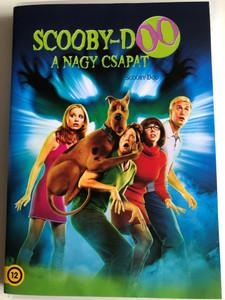 Scooby Doo DVD 2002 Scooby Doo - a nagy csapat / Directed by Raja Gosnell / Starring: Freddie Prinze Jr., Sarah Michelle Gellar, Matthew Lillard, Linda Cardellini, Rowan Atkinson (5996514004557)