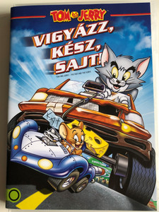 Tom and Jerry - The Fast and the Furry DVD 2005 Tom és Jerry Vigyázz, kész, sajt! / Directed by Bill Kopp / Starring: John DiMaggio, Rob Paulsen, Billy West, Jess Harnell, Charlie Adler (5996514008234)