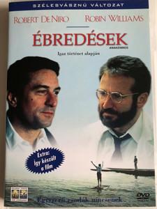 Awakenings DVD 1990 Ébredések / Directed by Penny Marshall / Starring: Robert De Niro, Robin Williams, Julie Kavner, Max von Sydow (5999010443776)