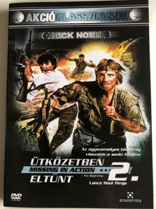 Missing in Action 2: The Beginning DVD 1985 Ütközetben eltűnt 2. - A kezdet / Directed by Lance Hool / Starring: Chuck Norris, Soon-Tek Oh, Steven Williams (5999544244405)