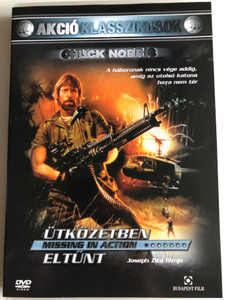 Missing in Action DVD 1984 Ütközetben eltűnt / Directed by Joseph Zito / Starring: Chuck Norris, M. Emmet Walsh, Lenore Kasdorf (5999544244399)