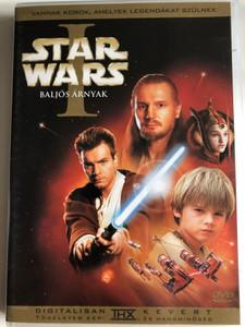 Star Wars I - The phantom menace 2 DVD Box 1999 Baljós árnyak / Directed by George Lucas / Starring: Liam Neeson, Ewan McGregor, Natalie Portman, Jake Lloyd, Ian McDiarmid / Special Collector's Edition (5996255707588)