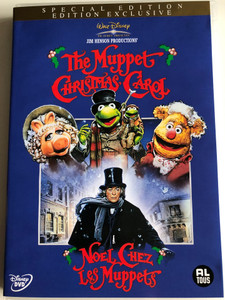 The Muppet Christmas Carol DVD 1992 Noel Chez Les Muppets / Directed by Brian Henson / Starring: Kermit the Frog, Miss Piggy, The Great Gonzo, Rizzo the Rat, Fozzie Bear, Michael Caine (8717418178451)