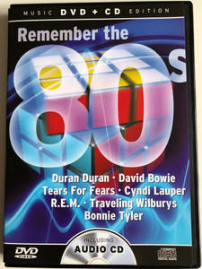 Remember the 80s Music DVD + CD Edition / Duran Duran, David Bowie, Tears for Fears, Cyndi Lauper, R.E.M, Bonnie Tyler / MCP Sound & Media (9002986631262)