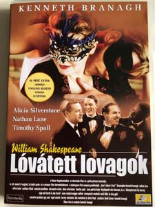Love's Labour's Lost DVD 2000 Lóvátett Lovagok / Directed by Kenneth Branagh / Starring: Kenneth Branagh, Nathan Lane, Adrian Lester, Matthew Lillard, Natascha McElhone (5999545560153)